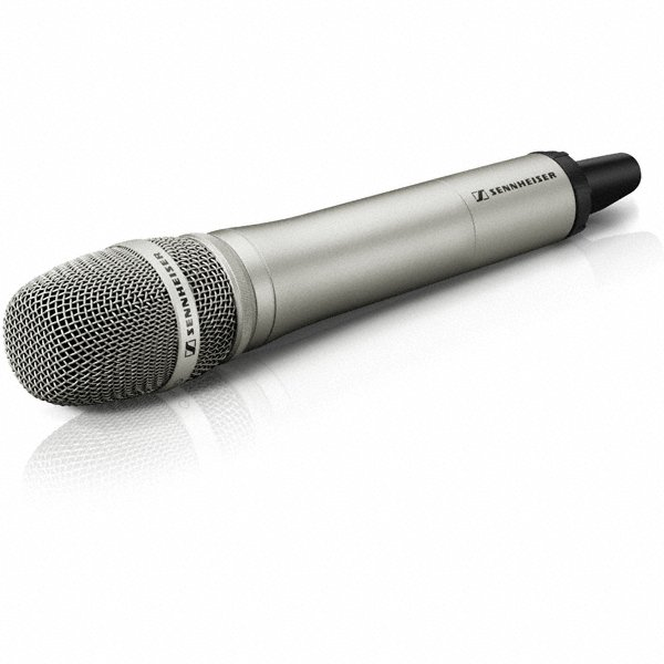 2000 Series UHF Handheld Microphone Transmitter in Nickel
