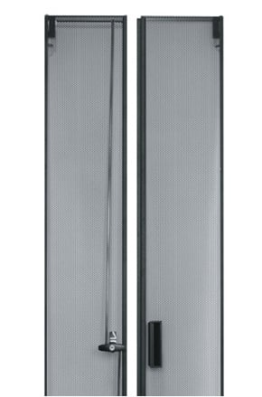 45 Space Large Perforated Split Rear Door for CLVRD Series