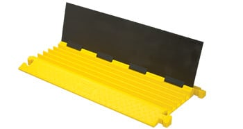Cable Protector in Black/Yellow