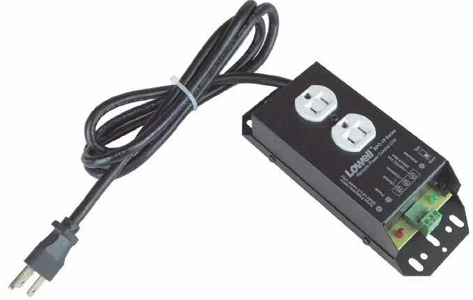 15A Remote Power Control with 6 ft Cord