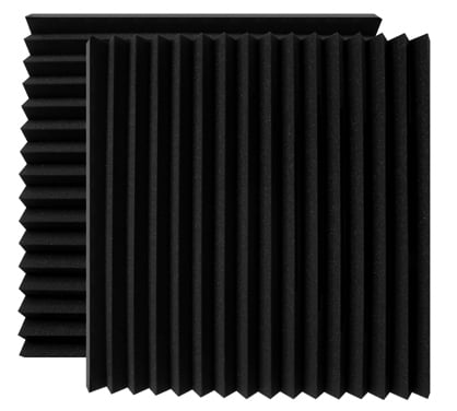 "1 Pair of 12""x12""x2"" Wedge-Style Wall Panels"