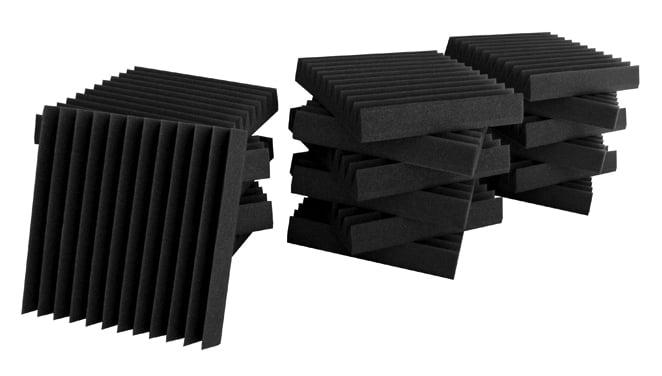 "18-Piece Studio Bundle I - 12""x12""x2"" Foam Wedge Panels"
