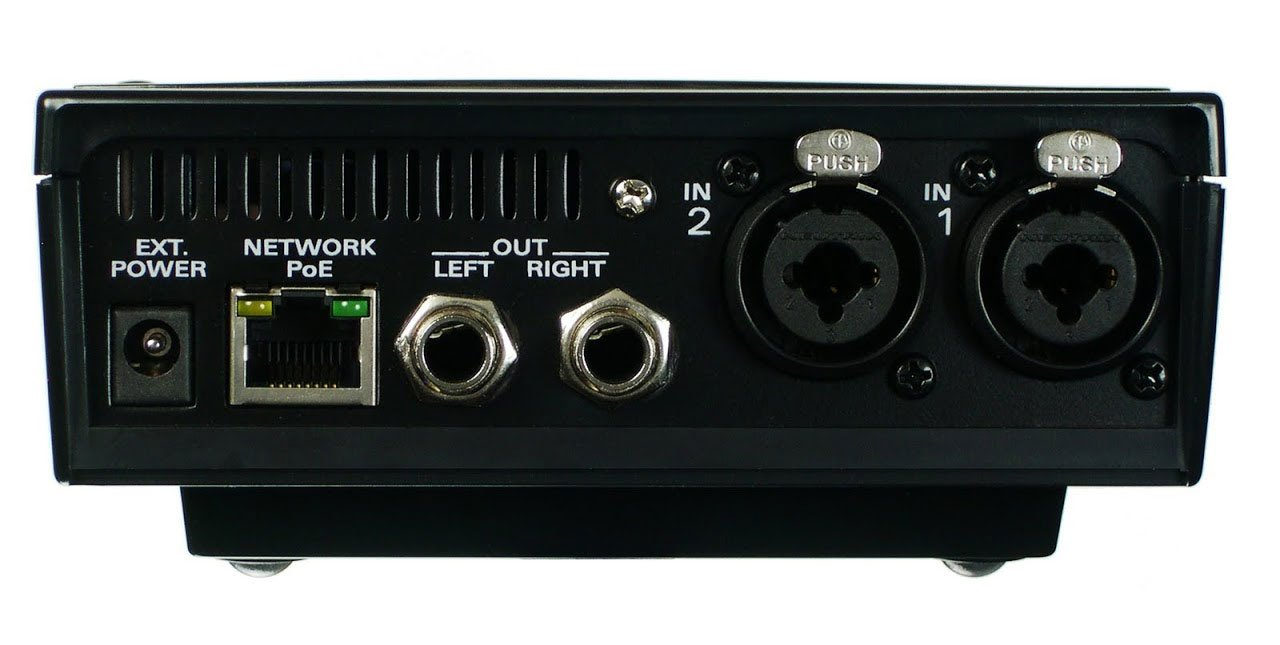 4 myMix Unit Package with 1x TPE-S80 PoE Switch
