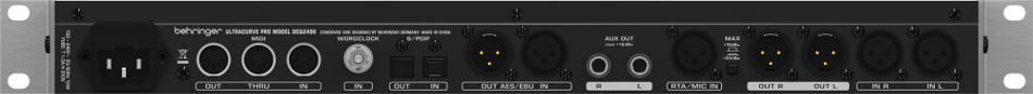Digital Equalizer / Mastering Processor, 24-bit/96kHz