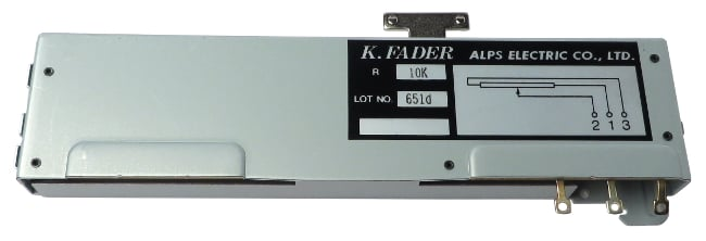 Mono Channel Fader for Series 4
