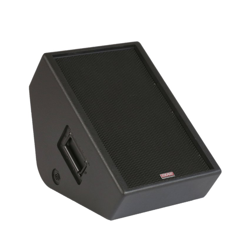 "12"" 2-Way 500 Watts at 8 Ohms Passive Stage Monitor in Black, 90°x60° Dispersion"
