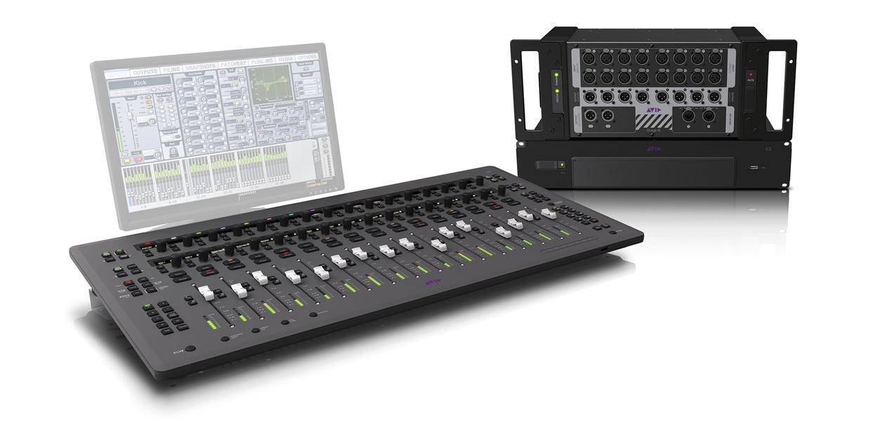Avid S3LX System 16 16 Input Digital Mixing System S3LX-SYSTEM-16