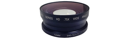 .75X Wide Angle Converter 72MM THREAD
