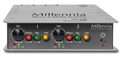 2-Channel Portable Microphone Preamplifier