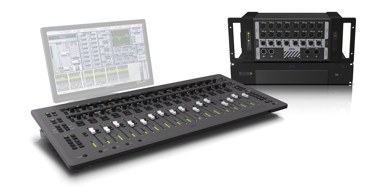 64 Input Digital Mixing System
