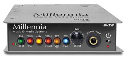 Millennia Media Inc HV-35P Single Channel Portable Microphone Preamplifier HV35P