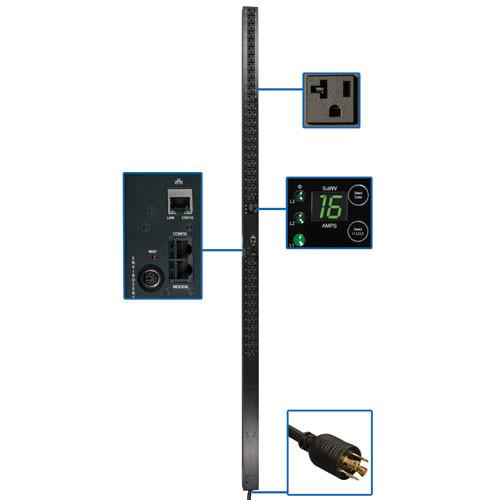 Tripp Lite PDU3VN10L2120LV  120V 20A 3-Phase Monitored Power Distribution Unit PDU3VN10L2120LV