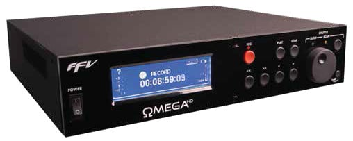 Dual Channel Omega HD Series Recorder with Balanced XLR Analog Audio