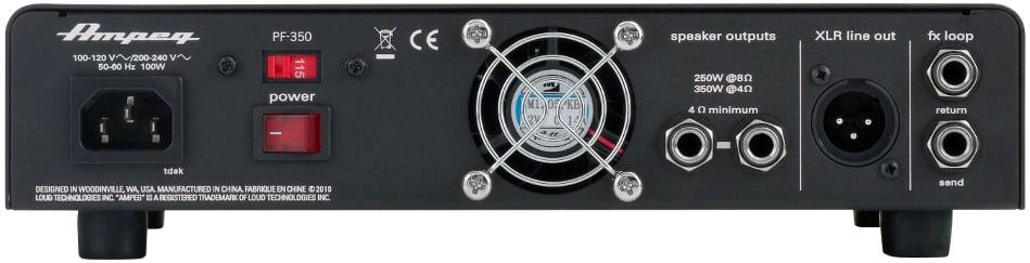 350W Portaflex Series Bass Amplifier Head