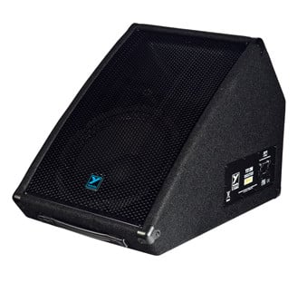200W 8Ohm Floor Monitor Speaker with 30° x 90° Dispersion