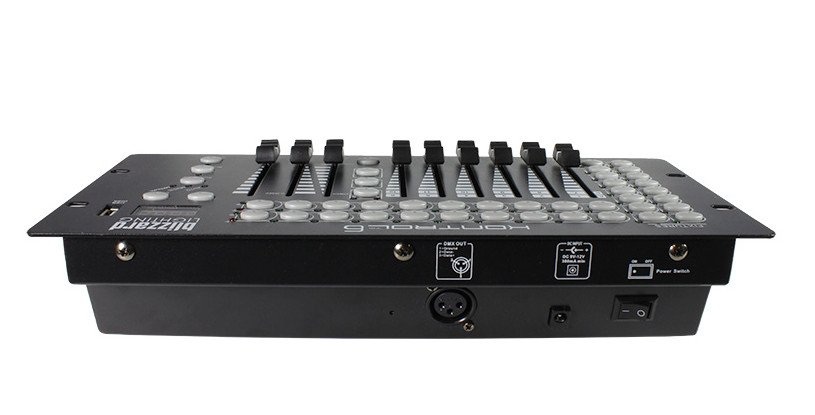 12-Channel 6 Fader DMX Controller