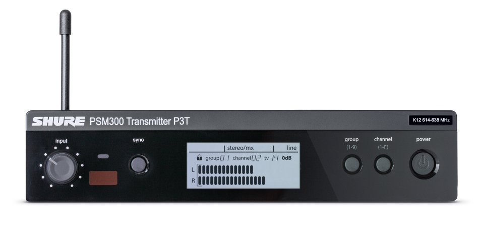 PSM 300 Series Half-Rack Single Channel Wireless Transmitter