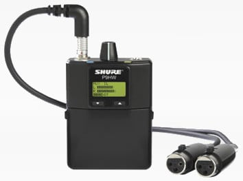 Wired 2-Channel Bodypack Monitor System