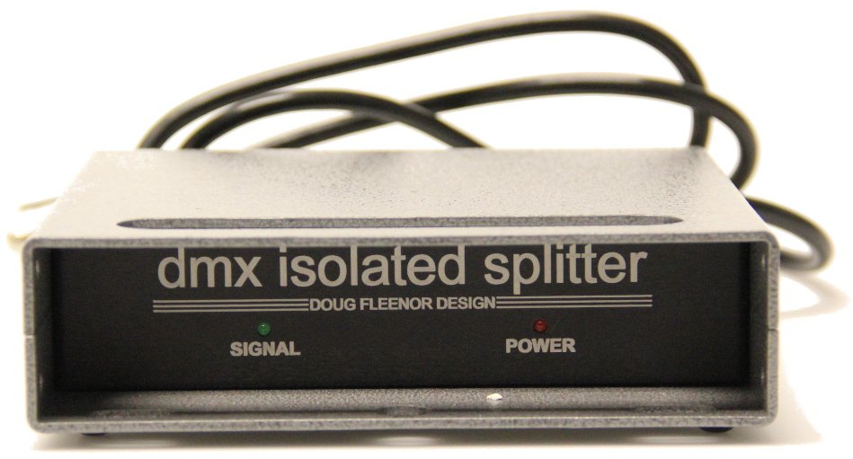 1x3 DMX Isolation Amplifier And Splitter