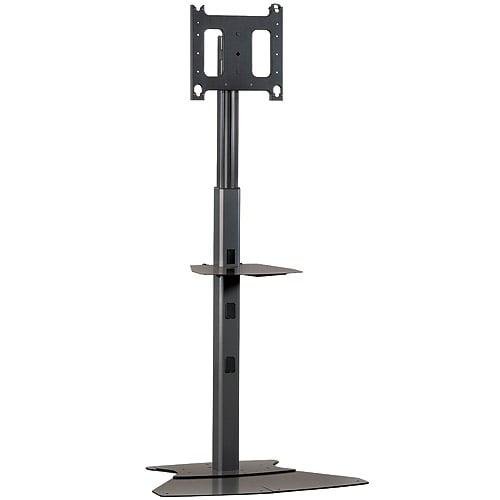 4'-7' Medium Flat Panel Floor AV Stand