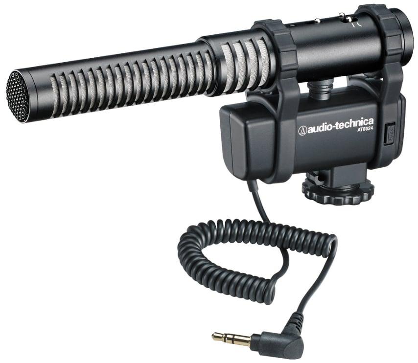 Stereo / Mono Camera-Mount Shotgun Microphone