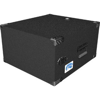 6 RU Mighty Light™ Carpet Rack Case in Black