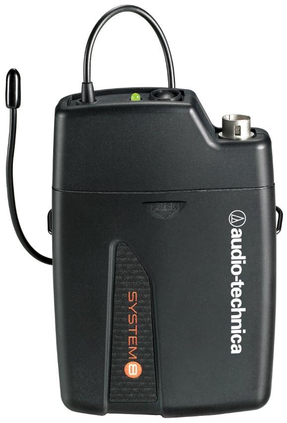 Audio-Technica ATW-T801 System 8 VHF Wireless Bodypack Transmitter ATW-T801