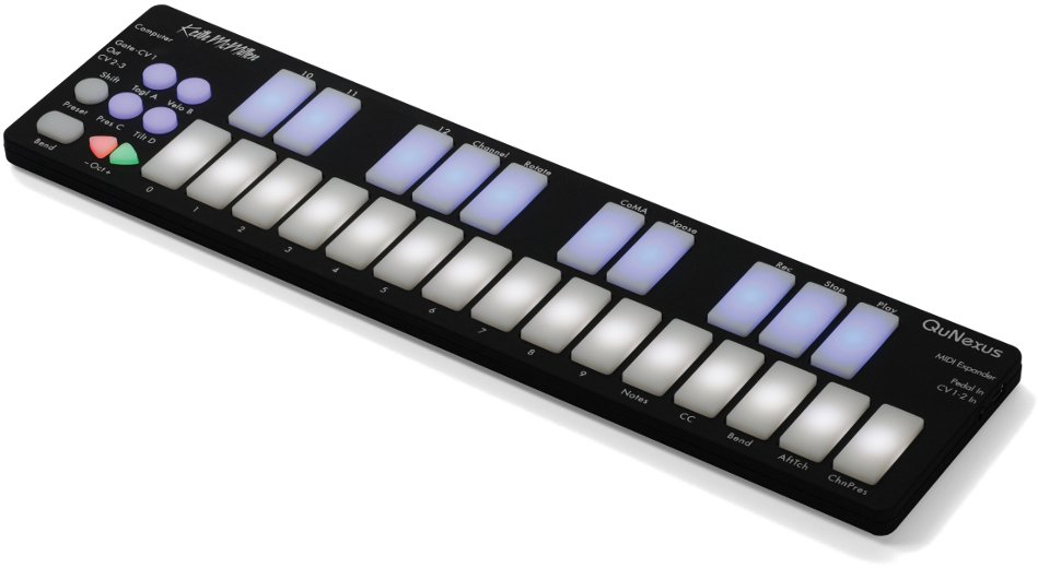 Portable USB / MIDI Keyboard Controller