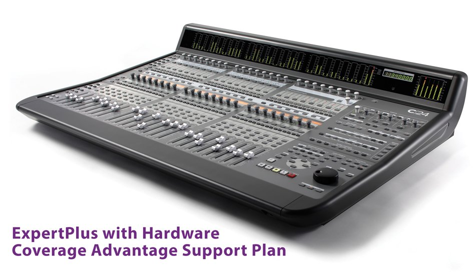 Avid Advantage ExpertPlus Support Plan with Hardware Coverage for C|24 Control Surface ADVTG-C24-EXPERT-P-C