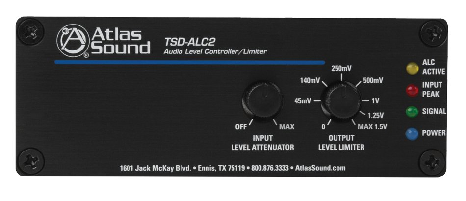 2-Channel Audio Level Controller/Limiter