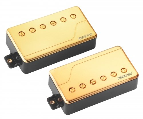 Fluence Classic Humbucker Pickup Set in Gold