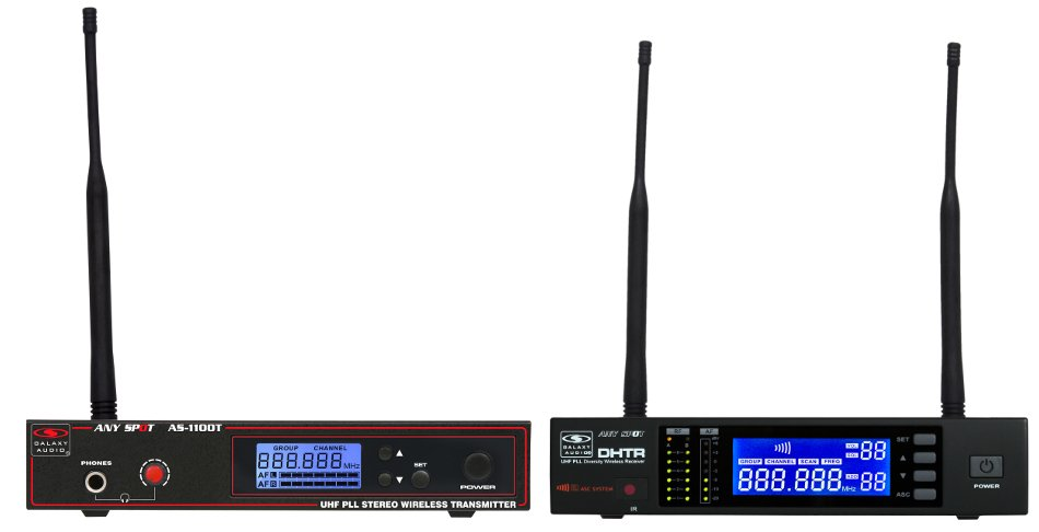 AC Powered Wireless Speaker Transmission System, D-Band 655-679 MHz