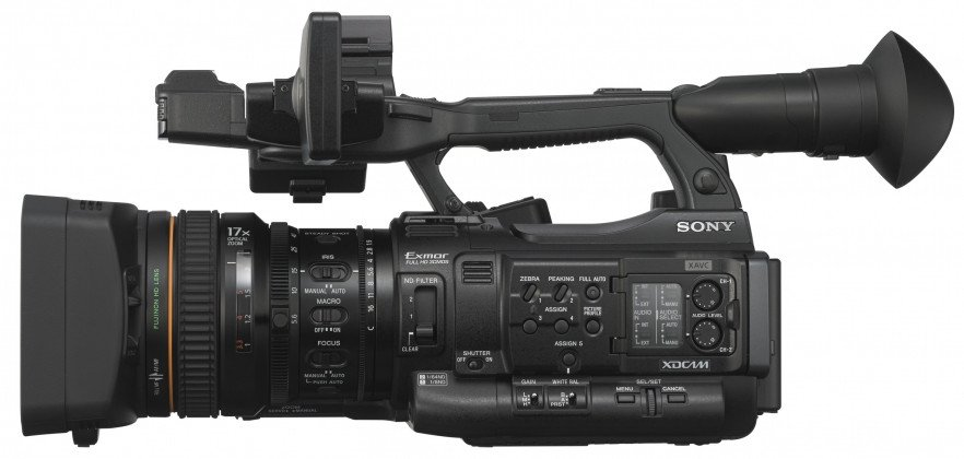 XDCAM XAVC HD422 Hand-Held Camcorder