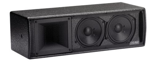Passive 2-Way Rectangular Speaker Enclosure in Black