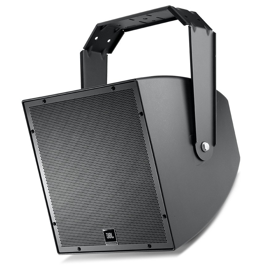 "15"" All-Weather Compact 2-Way Coaxial Loudspeaker in Black"
