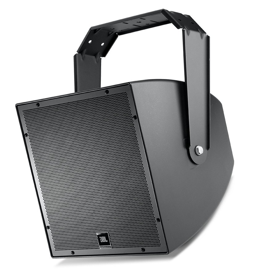 "All-Weather Compact Low-Frequency Speaker with 15"" Woofer in Black"