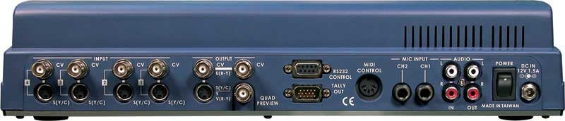 4-Channel Video Mixer, NTSC