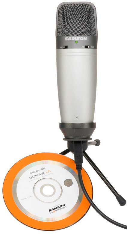 Multipattern USB Studio Condenser Microphone