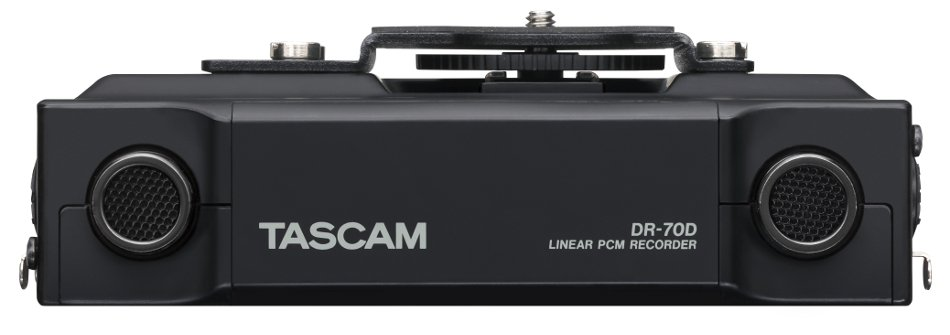4-Channel Portable Linear PCM Recorder for DSLR