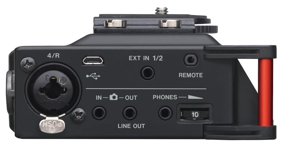 4-Channel Portable Linear PCM Recorder for DSLR
