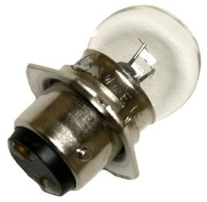 6V 15W G-18MM Bulb with DC Bayonet Base with Triangle Flange