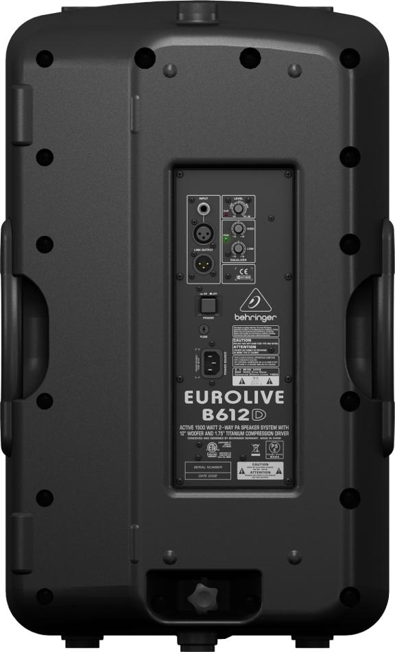 """12"""" 2-Way 1500 Watt Active Loudspeaker"""
