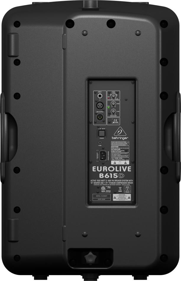 """15"""" 2-Way 1500 Watt Active Loudspeaker"""