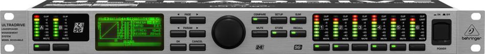 behringer ultradrive dcx2496le 24 bit 96 khz loudspeaker management system full compass. Black Bedroom Furniture Sets. Home Design Ideas