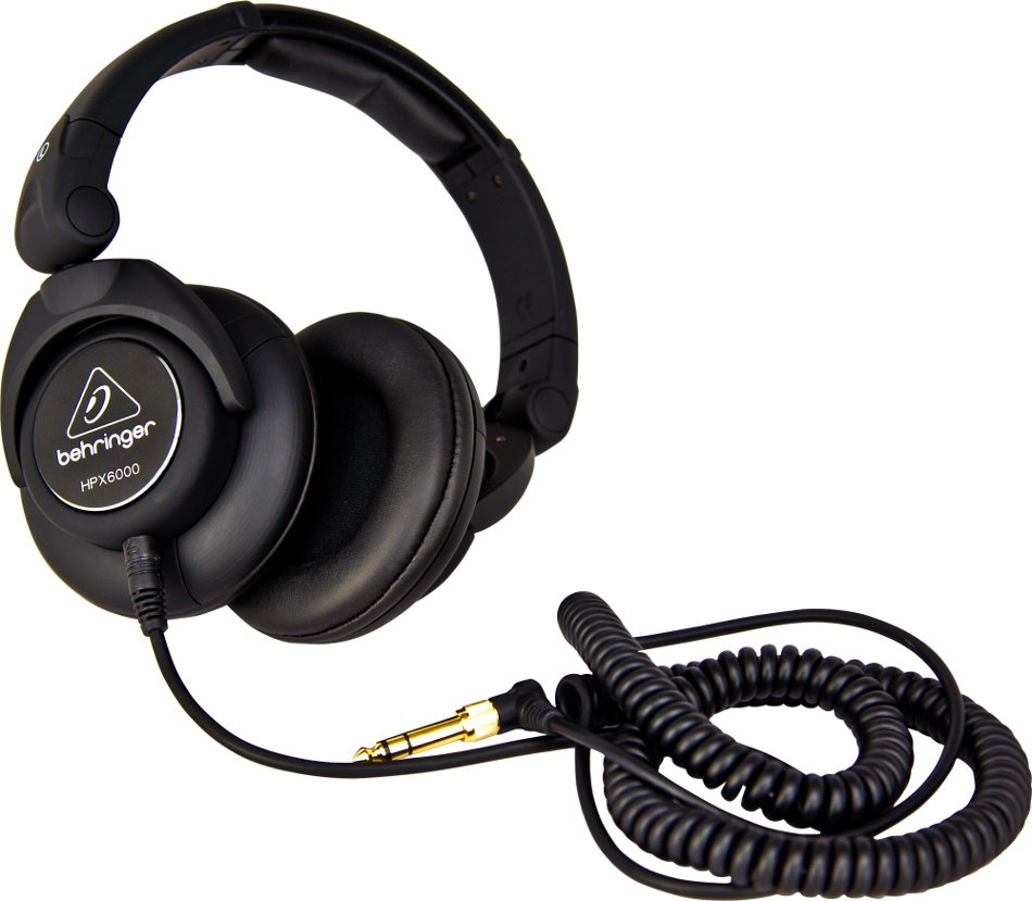 Professional DJ Headphones with 50mm Drivers
