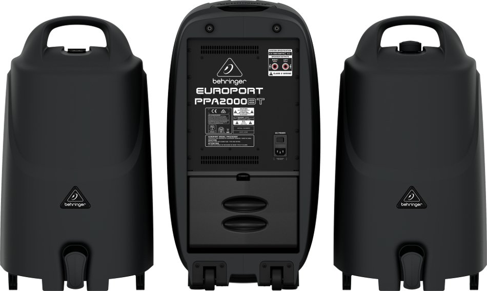 8-Channel 2000 Watt Portable PA System with Bluetooth, Wireless Expandability and Multi-FX Processor