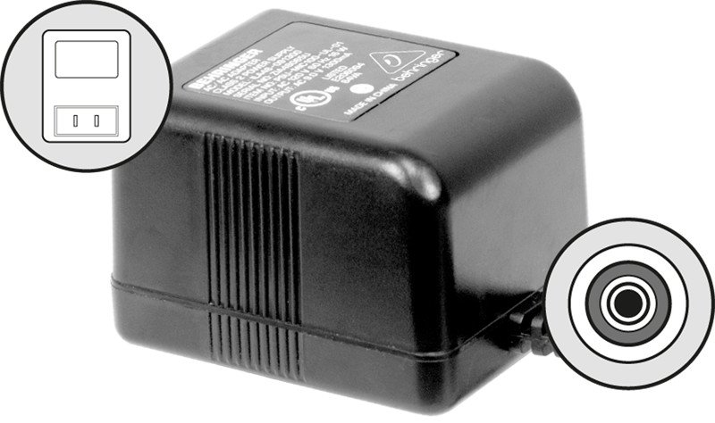 120V Replacement Power Supply for MIC100/200