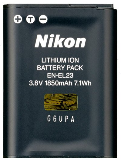 Rechargeable Li-ion Battery for COOLPIX Digital Cameras