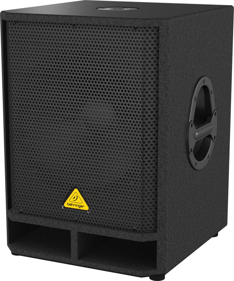 "15"" 500 Watt Active Subwoofer with Onboard Stereo Crossover"