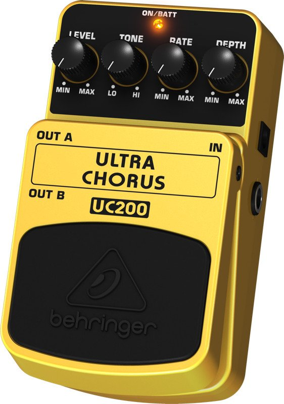 Behringer Ultra Chorus UC200 Stereo Chorus Effects Pedal UC200